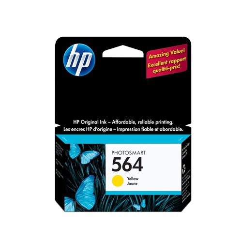 HP 564 Yellow Ink (CB320WN#140)