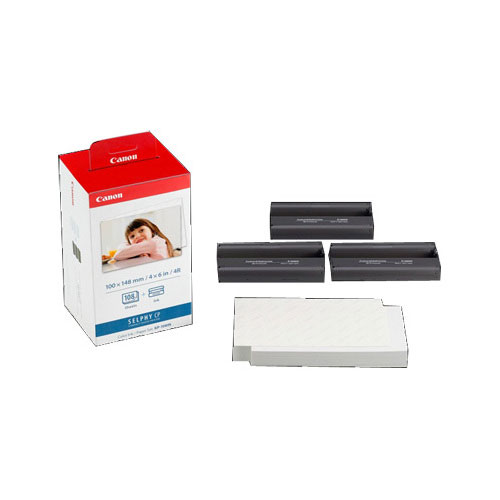 Canon Colour Ink & Photo Paper Set (KP-108IN)