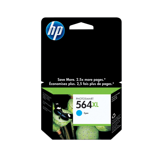 HP 564XL Cyan Ink (CB323WN#140)