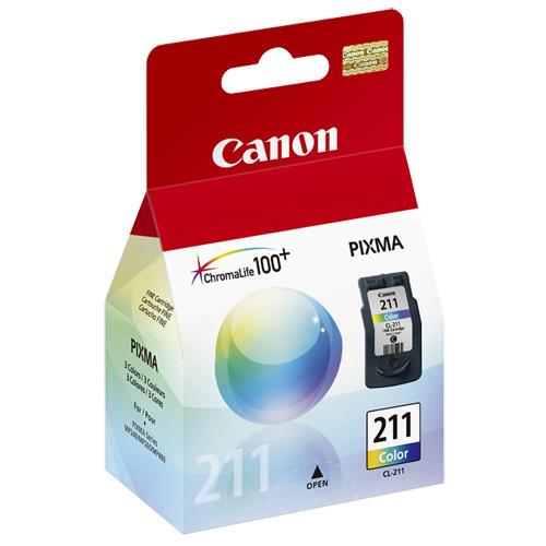 Canon CL-211 Tri-Colour Ink (CL-211)