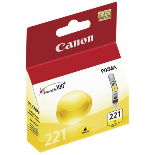 Cartouche d'encre jaune CLI-221Y de Canon (2949B001)