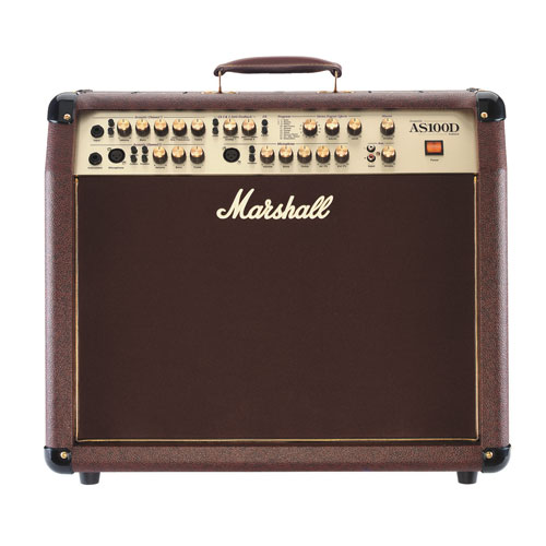 Marshall 2x50W 4-Channel Acoustic Combo Amp (AS100D)