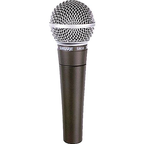 Microphone dynamique cardioïde portatif de Shure