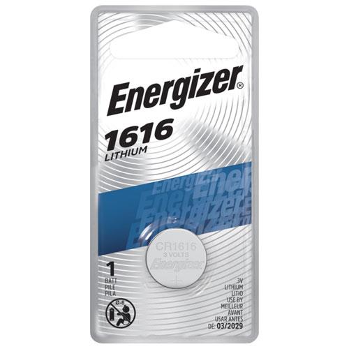 Pile miniature pour montre/calculatrice d'Energizer (ECR1616BP)