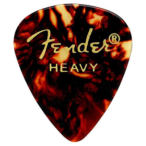 Médiators en écaille Fender - Épais