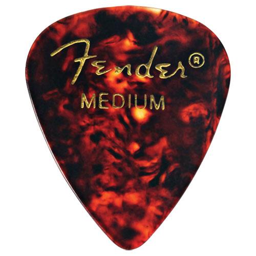 Médiators moyens de Fender - Écaille de tortue