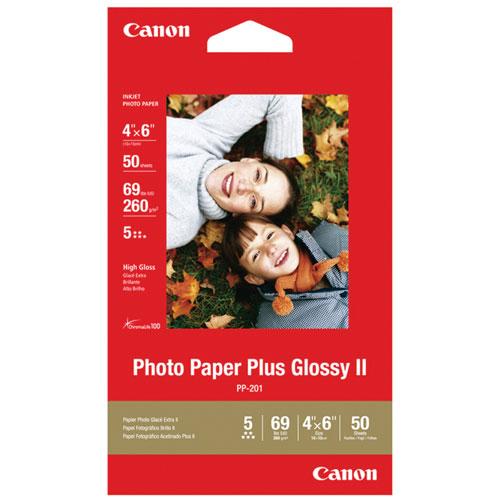 "Canon 50-Sheet 4"" x 6"" Plus Glossy Photo Paper"