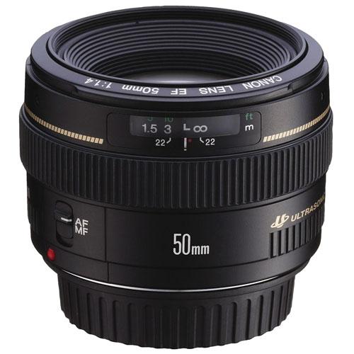 Objectif EF USM 50 mm f/1,4 de Canon