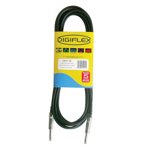 Digiflex 15' Instrument Cable (HPP-15)