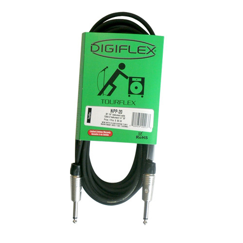 Digiflex 20' Tourflex Instrument Cable (NPP-20)
