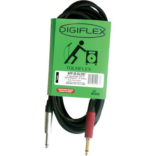 Câble de 20 pi pour instrument de Digiflex (NPP-20-SILENT)