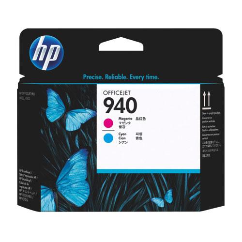 Tête d'impression magenta/cyan 940 de HP (C4900A)