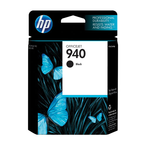 HP 940 Black Ink (C4902AN#140)