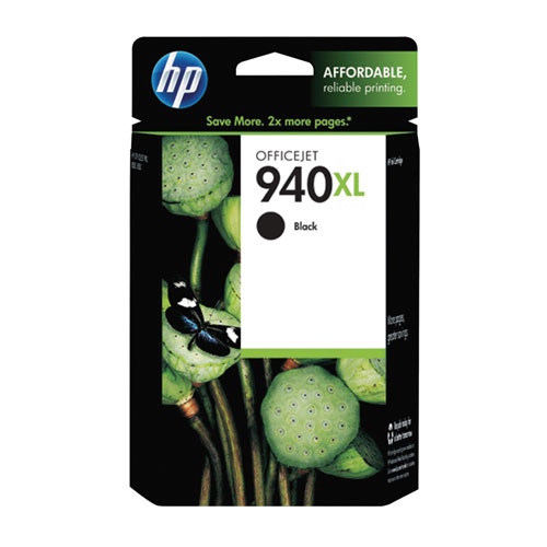 HP 940XL Black Ink (C4906AC140)