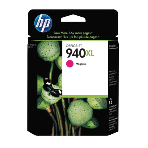 HP 940XL Magenta Ink (C4908AN#140)