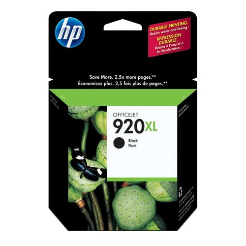 Cartouche d'encre noire 920XL de HP (CD975AC140)