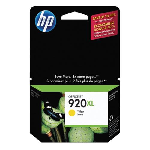 HP 920XL Yellow Ink (CD974AC140)