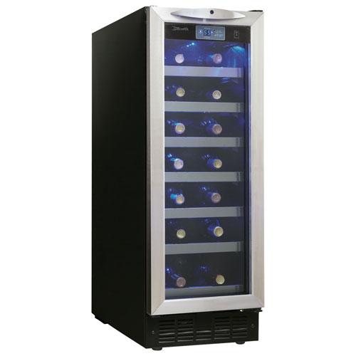 Cellier pour 27 bouteilles Pecorino de Silhouette - Noir