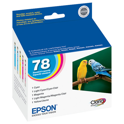 Epson Claria 78 Colour Ink - 5 Pack