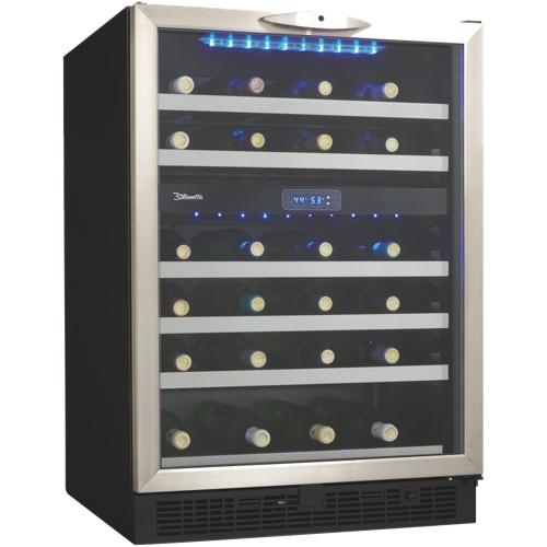 Silhouette 5.1 cu. ft. Bottle Wine Cooler (DWC518BLS)