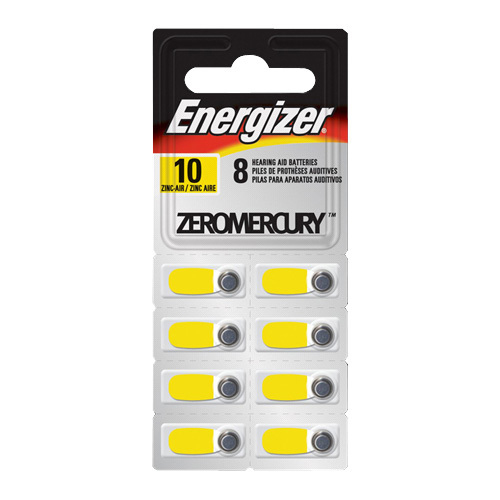 Energizer Hearing Aid Battery (AZ10E8)