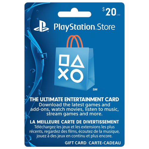 PlayStation Network $20 Prepaid Card - In-Store Only