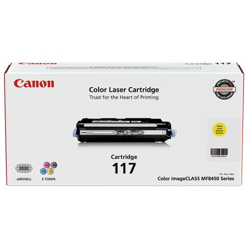 Canon 117 Yellow Toner