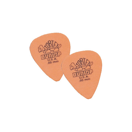 Médiators de guitare Tortex de Dunlop (418P-60)