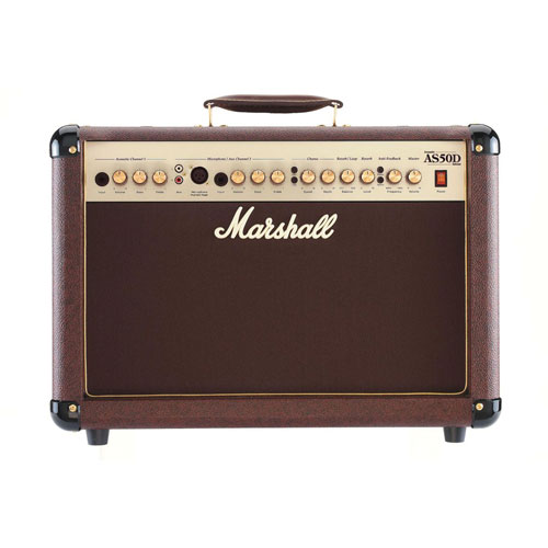 Marshall 50 Watts Acoustic Guitar Combo Amp (AS50D)