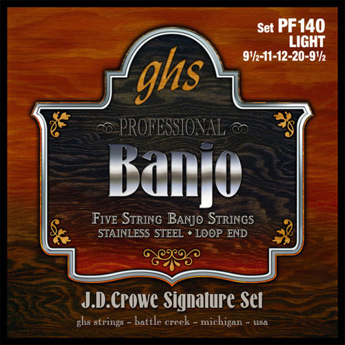 GHS .011 - .022 Gauge Banjo String Set (PF175)