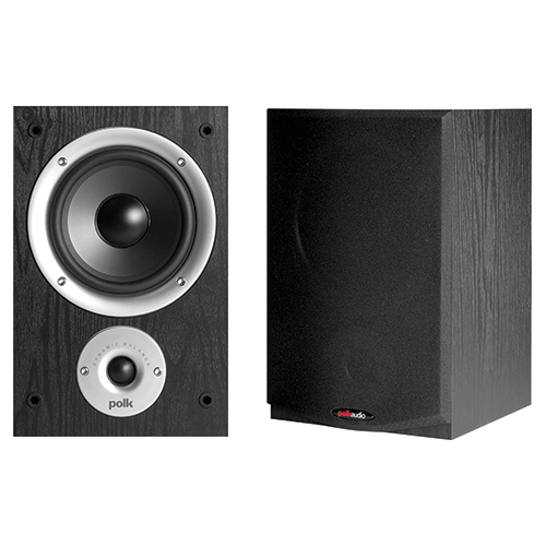 Polk Audio R150 100-Watt Bookshelf Speakers - Pair