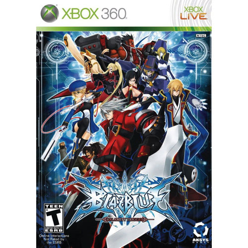 Blazblue Calamity Trigger (XBOX 360) - Previously Played