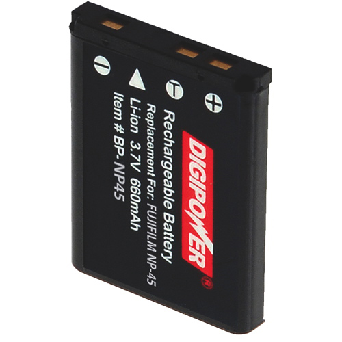 Digipower Replacement Lithium-Ion Battery For Fuji & Pentax Cameras (BP-NP45)