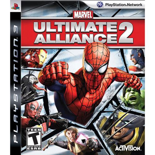Marvel Ultimate Alliance 2 (PS3) - Jeu usagé
