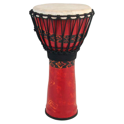 """Toca 9"""" Synergy Freestyle Djembe (SFDJ-9RP) - Red"""