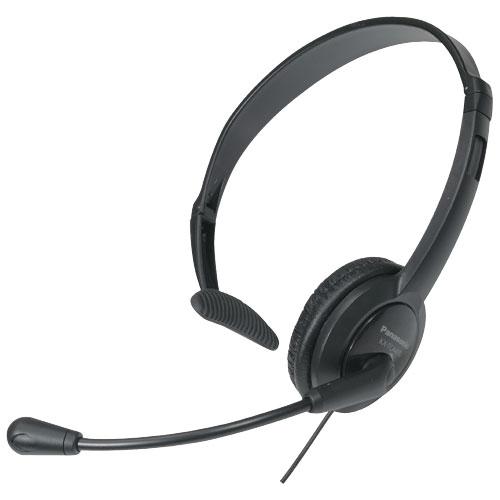 Casque d'écoute mains libres de Panasonic (KXTCA400K)