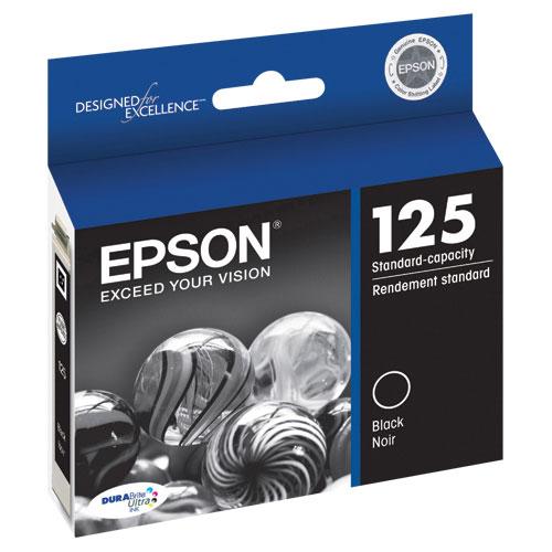 Cartouche d'encre noire d'Epson (T125120-S)