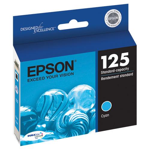 Cartouche d'encre cyan d'Epson (T125220)