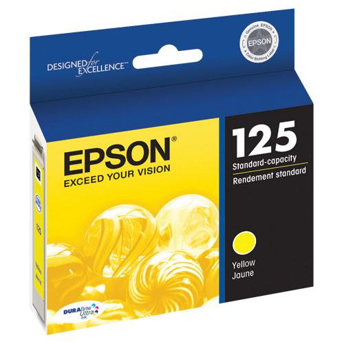 Cartouche d'encre jaune d'Epson (T125420)