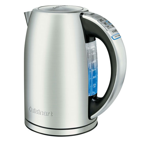 Purchase Electric Kettle ~ Cuisinart perfectemp electric kettle l stainless