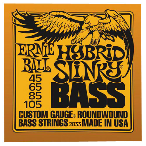 Ernie Ball Hybrid Slinky (45-105 Orange Nick) - Bass