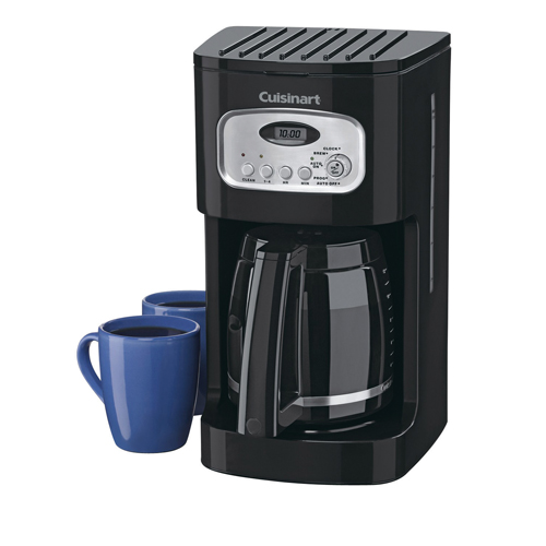cuisinart 12-cup classic coffee maker (dcc-1110bkc) : coffee makers ...