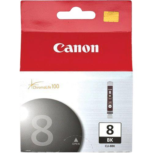 Canon CLI-8BK Black Ink (0620B002)