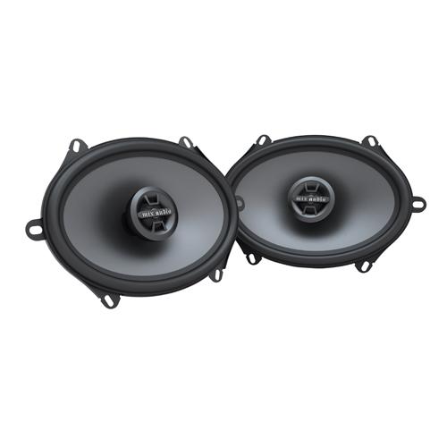 Haut-parleur coaxial de 6 x 8 po/5 x 7 po TDX de MTX pour l'auto (TDX68)