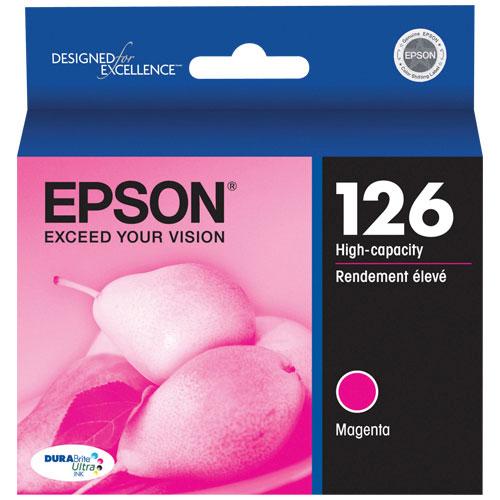 Cartouche d'encre magenta 126 d'Epson (T126320-S)