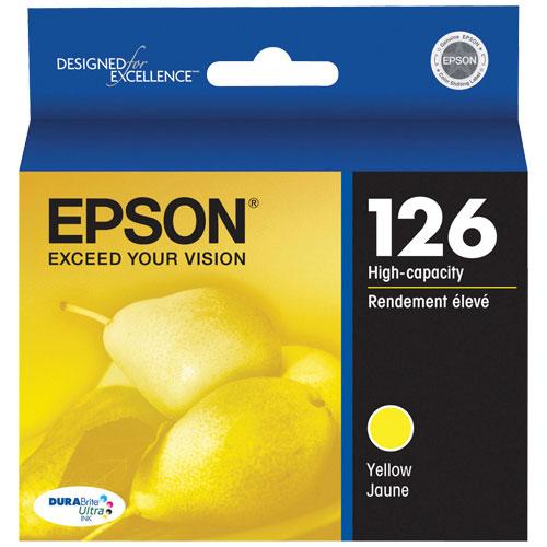 Cartouche d'encre jaune 126 d'Epson (T126420-S)