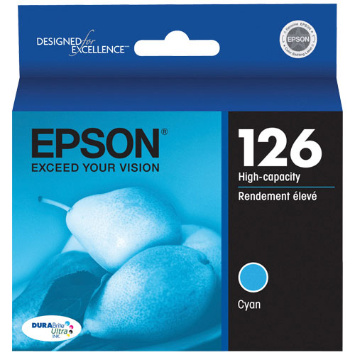 Epson 126 Cyan Ink (T126220-S)