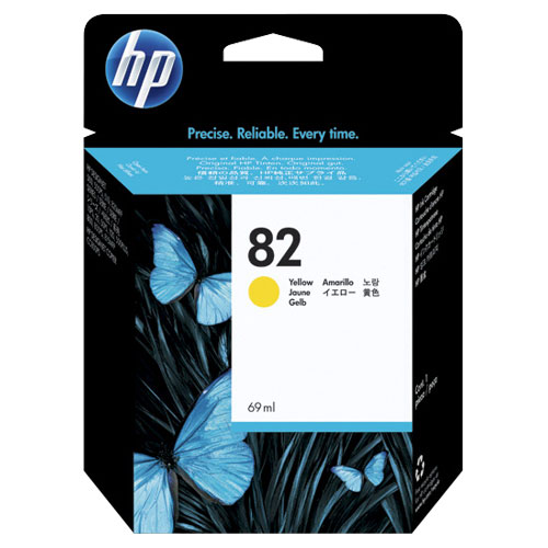 HP 82 Yellow Ink (C4913A)