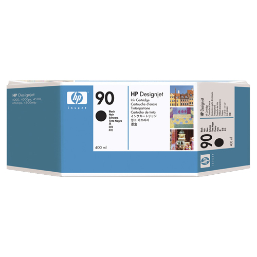HP 90 Black Ink (C5058A)