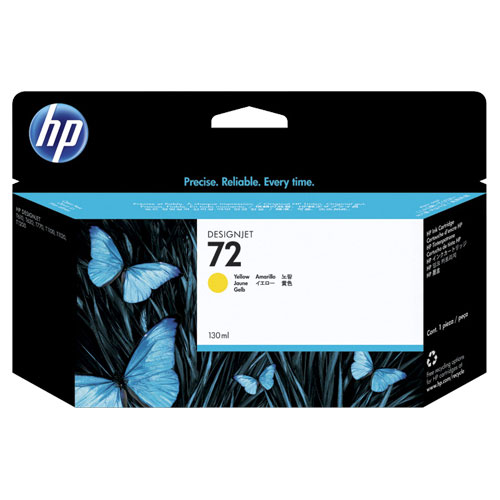 HP 72 Yellow Ink (C9373A)